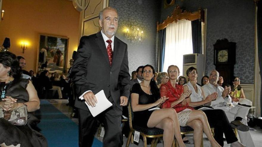 Miguel Valor en el Ayuntamiento de Alicante.