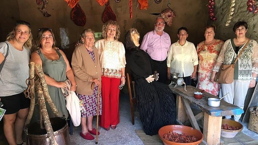 La fiesta mitológica 'Un pueblo de Leyendas' recibe a centenares de vistantes en Anievas