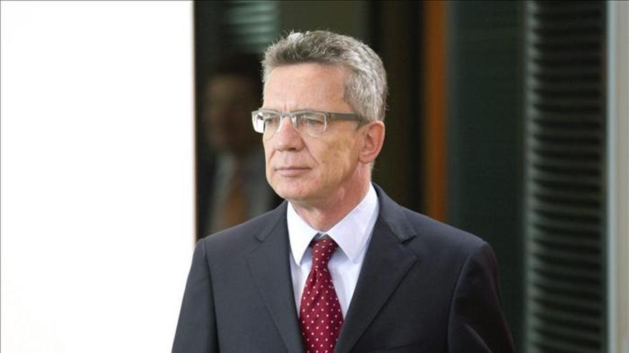 El ministro alemán de Interior, Thomas de Maizière.