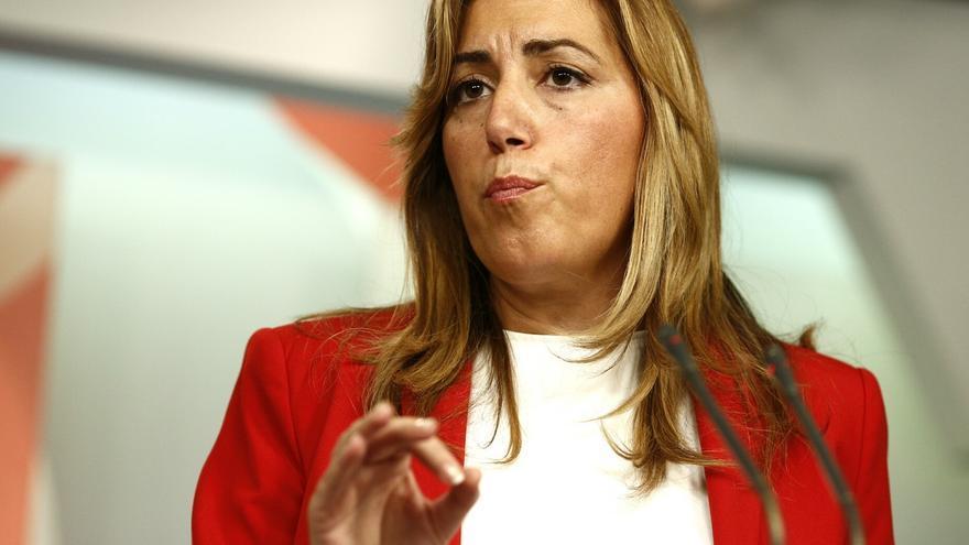 Susana Díaz participa este sábado en San Sebastián en las 'Reflexiones de futuro' organizadas por el PSE-EE