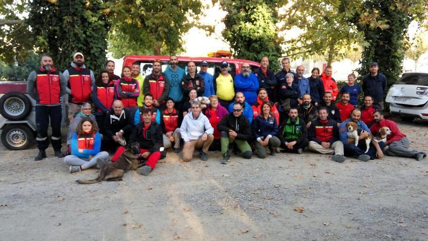 El curso  mantrailing se desarrolló del 4 al 10 de octubre y en el mismo han participado grupos de España, Francia y Andorra.