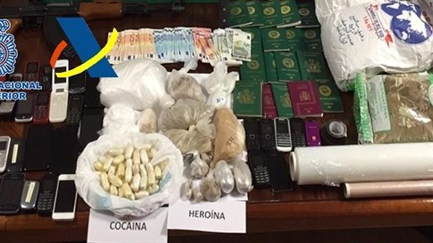 Desarticulada la mayor organización dedicada al tráfico de drogas en Canarias