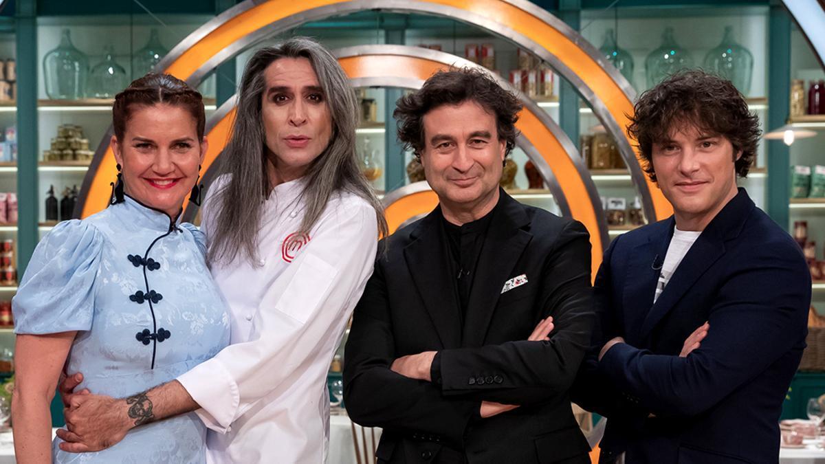 Mario Vaquerizo vuelve a las cocinas de 'MasterChef' este lunes 4 de octubre