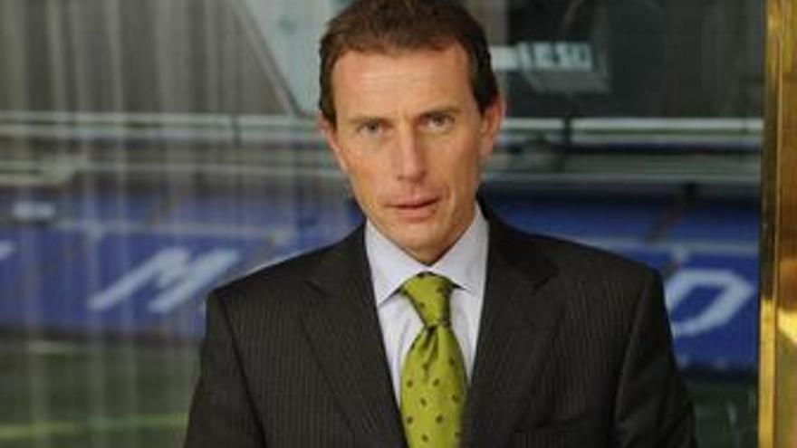 El director de Relaciones Institucionales del Real Madrid Emilio Butragueño
