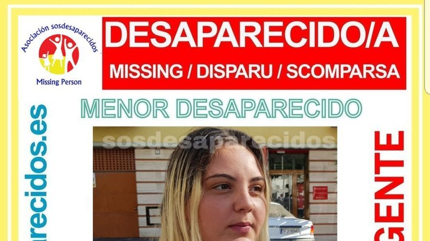 Nerea Aranzu Castillo, desparecida en Tenerife