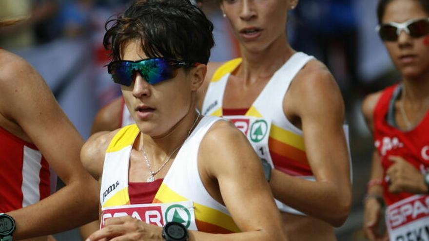Atletismo: María Pérez, de nuevo Campeona de España