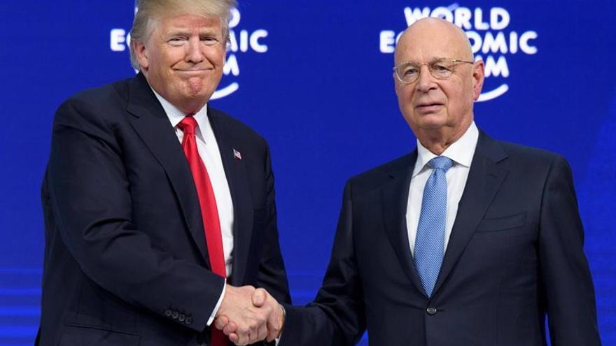 Concluye el Foro de Davos sin aclarar si EEUU es o no un país proteccionista
