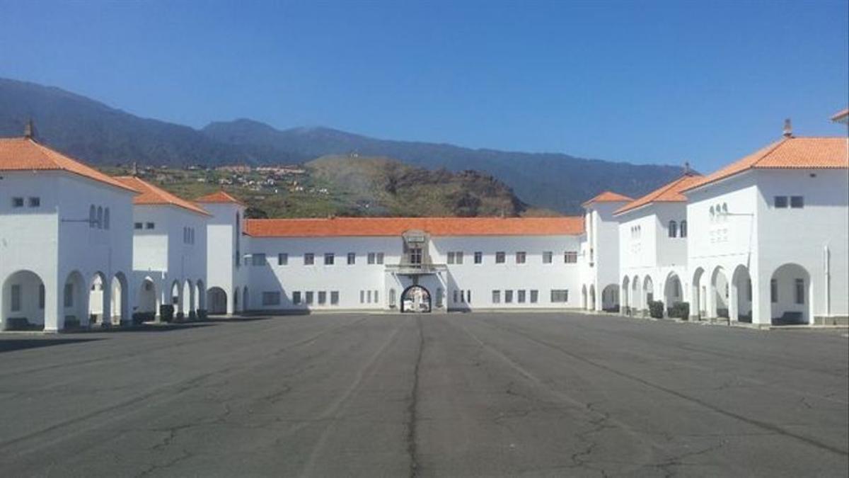 Acuartelamiento El Fuerte, en Breña Baja.