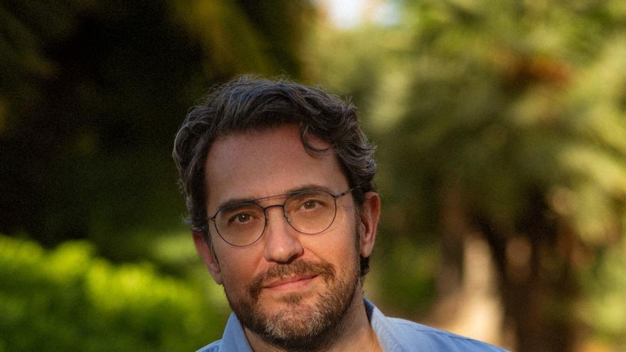 El periodista y escritor Máximo Huerta.