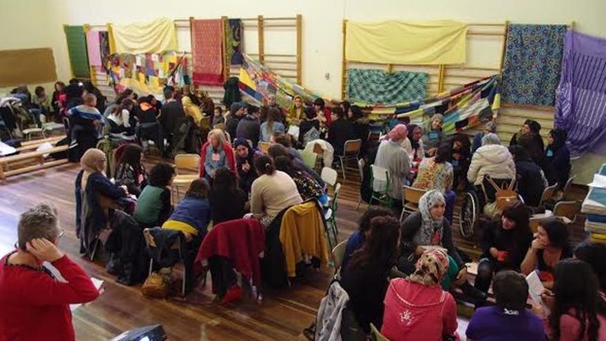 Encuentro de mujeres inmigrantes en Vitoria.