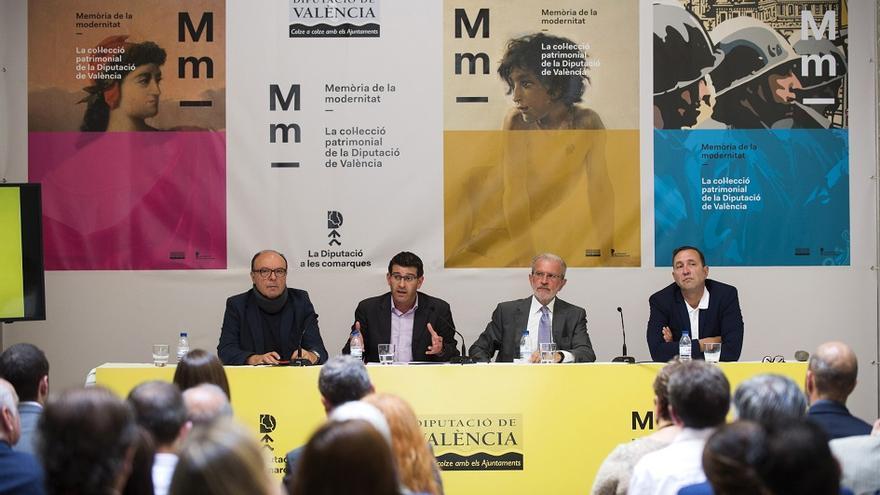 La Diputació ha presentat la proposta 'Memòria de la modernitat'