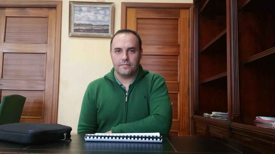 Luis Camacho es consejero de Hacienda y Recursos Humanos. Foto: LUZ RODRÍGUEZ.