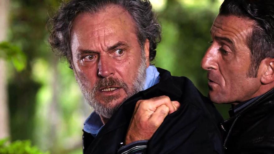 José Coronado y Luis Zahera en 'Vivir sin permiso'