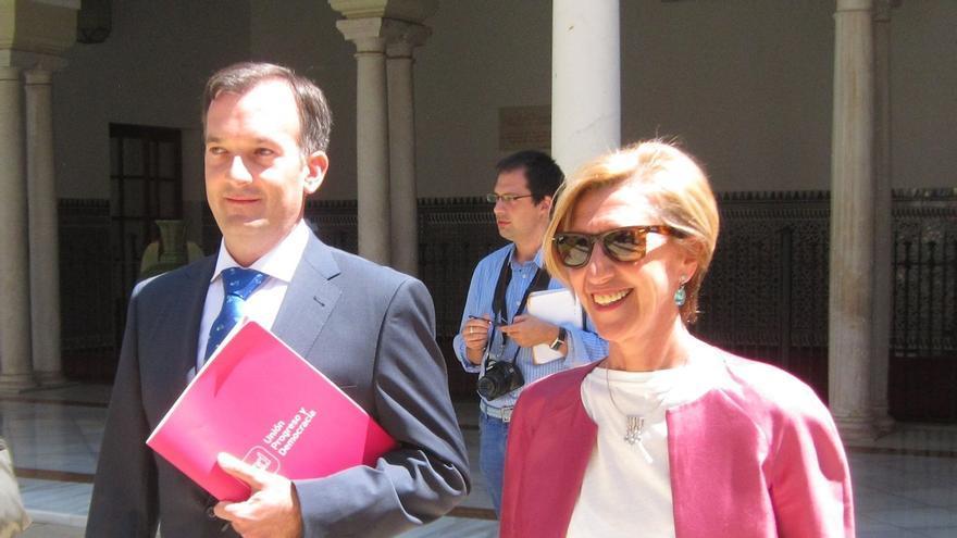 Rosa Díez presenta este viernes en Sevilla a los cabezas de lista de UPyD a las elecciones andaluzas