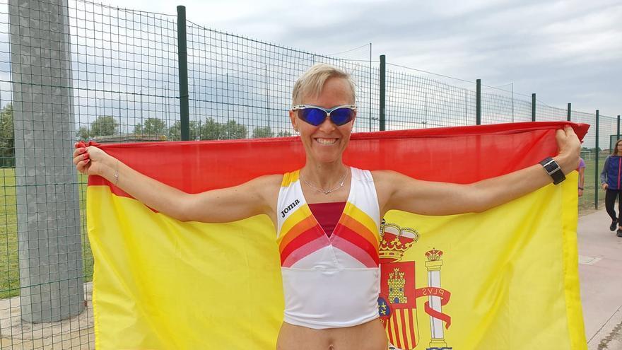 Marisa Pérez, en el Campeonato de Venecia