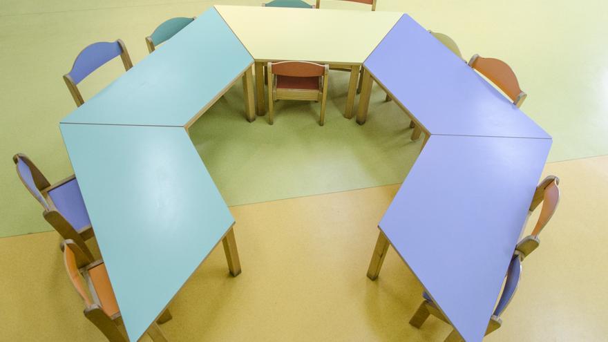 mesas colegio