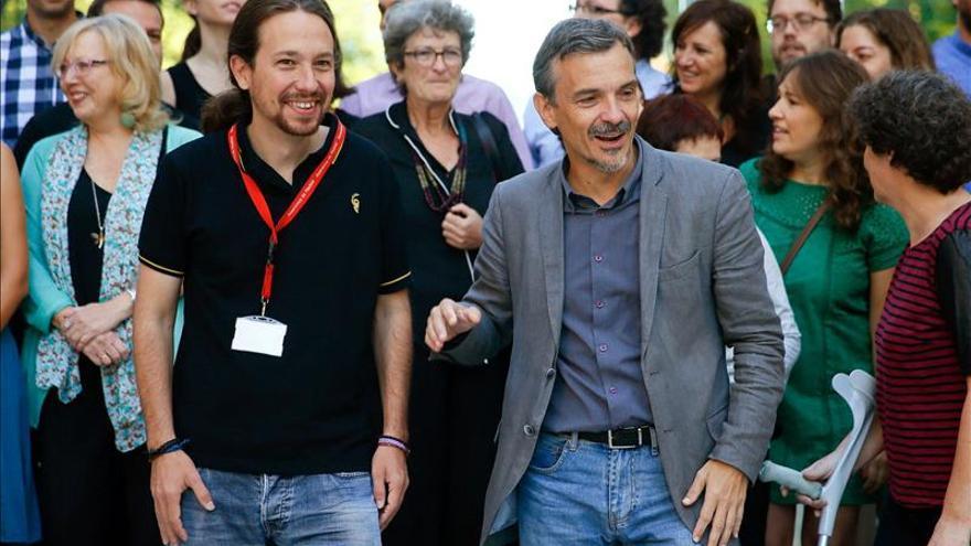 """Iglesias promete no unirse """"en ningún caso"""" a un frente antiindependentista"""