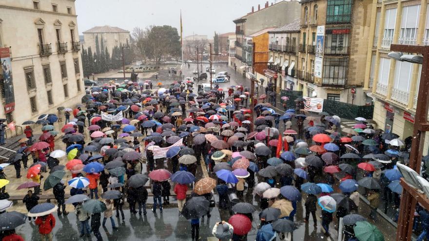 Manifestación en Guadalajara. FOTO: UGT Guadalajara