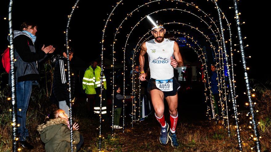 El corredor Arezki Habibi durante la prueba.