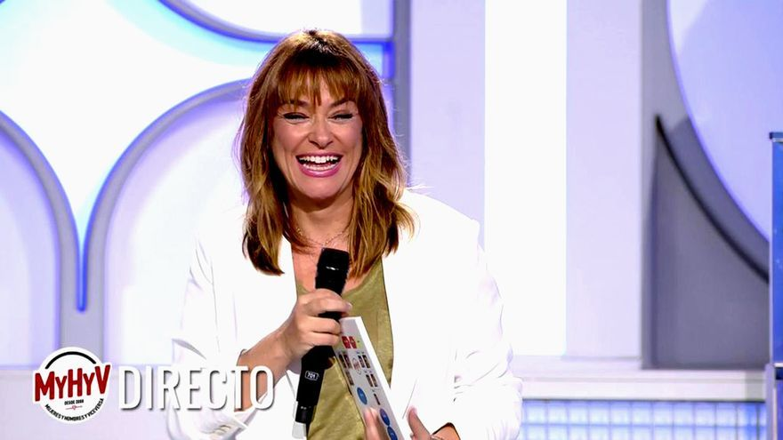 Toñi Moreno, en su regreso a 'MyHyV'