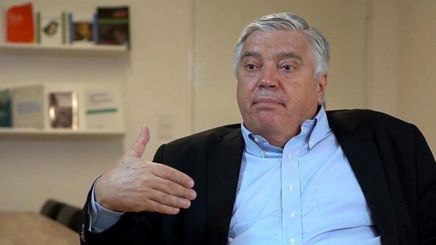 José Luis Vila, ex funcionario del ministerio de Defensa.