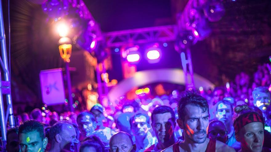 Imagen de archivo de la 'Neon Run Spain'.