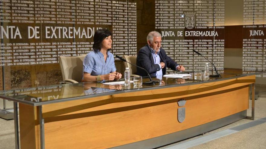 Esther Gutierrez consejera Educación Empleo Extremadura