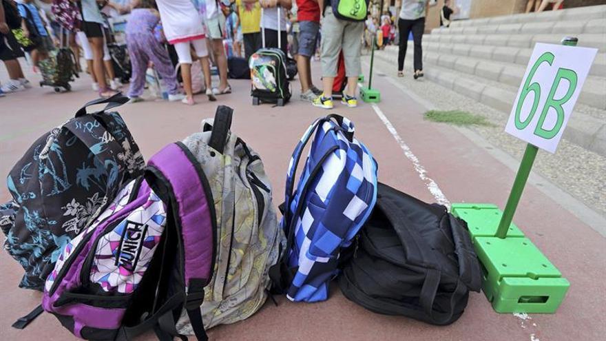 Murcia, la primera comunidad autónoma en arrancar el curso escolar en 2018-19