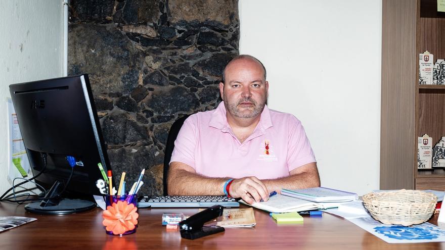 Iván Brito es concejal de Cultura.