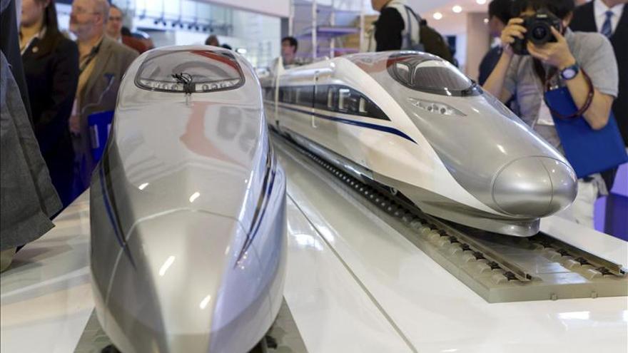 China aprueba la fusión de las dos mayores constructoras de trenes