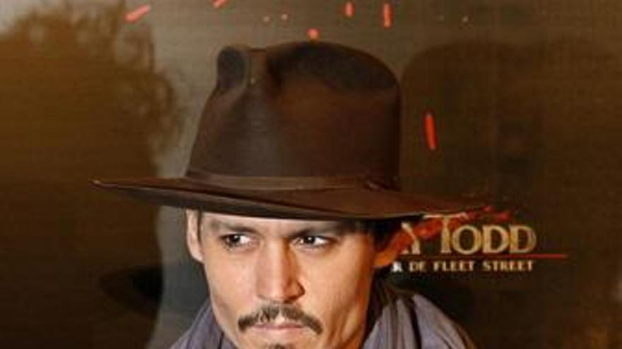 Kusturica levantará una estatua a Johnny Depp