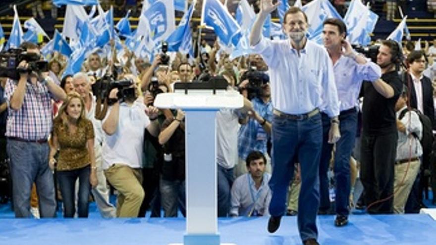 Rajoy En Un Mitin En Canarias