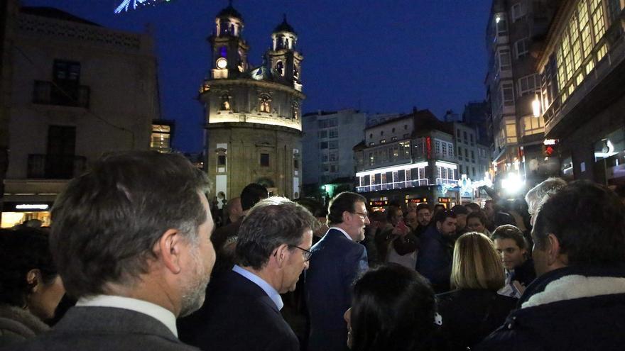 Fiscalía de Menores decidirá sobre el joven detenido en Pontevedra por atentado a la autoridad al agredir a Rajoy