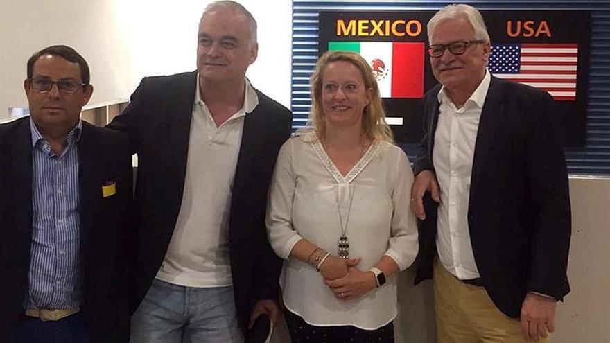 Eurodiputado González Pons critica los muros en frontera de México con EEUU