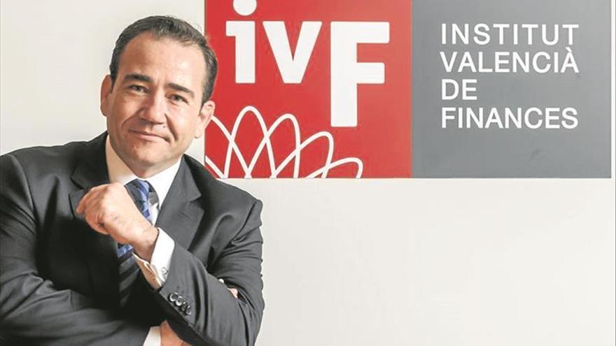 Manuel Illueca, director general del Instituto Valenciano de Finanzas.