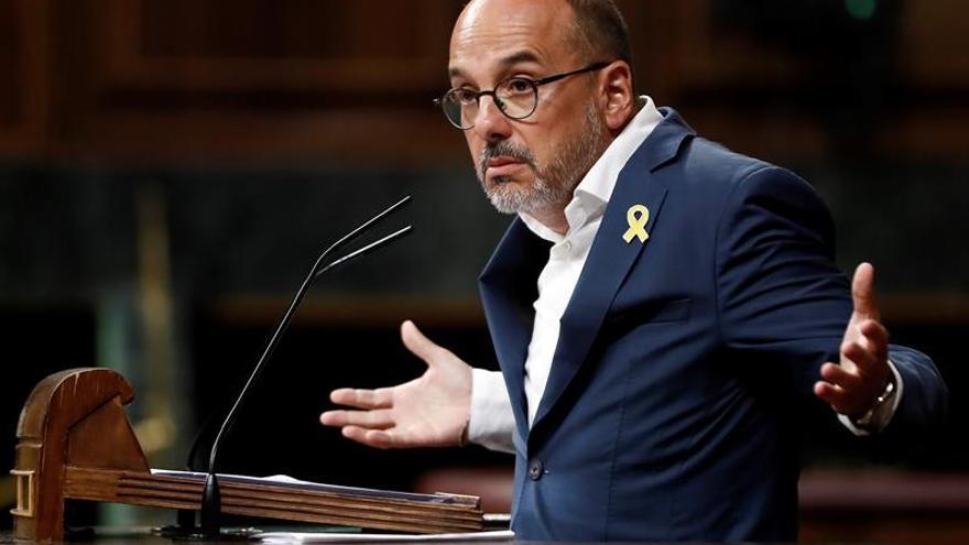 PDeCAT retira su moción sobre diálogo pactada con el PSOE tras rechazarla ERC