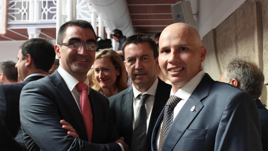 Miguel Ángel López-Morell, Juan José Molina y Mario Gómez, de Ciudadanos / PSS