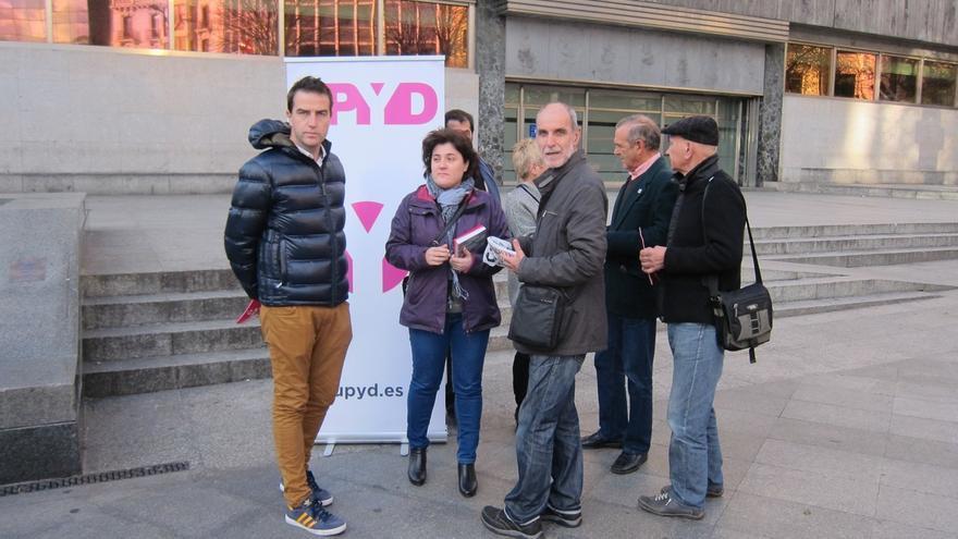 """Maneiro defiende que UPyD ha """"revolucionado la política"""", motivo por el que no interesa que """"incremente su fuerza"""""""
