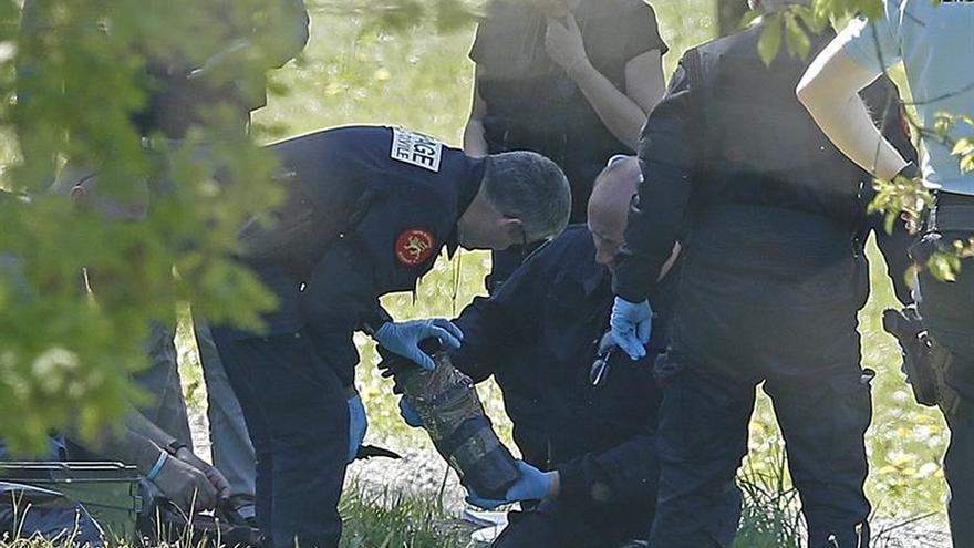 Francia comunicará a la justicia española el peritaje del arsenal de ETA