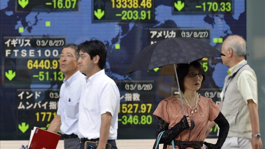 El Nikkei sube un 0,45 por ciento hasta los 19.978,95 puntos