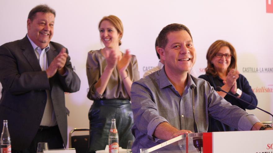 Emiliano García-Page en el Comité Regional del PSOE