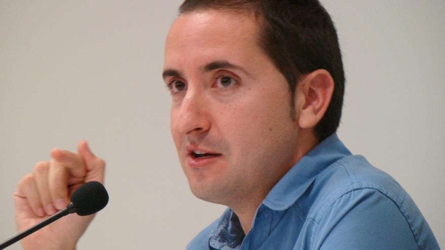 Sergi Castillo, el autor del libro 'Tierra de Saqueo'