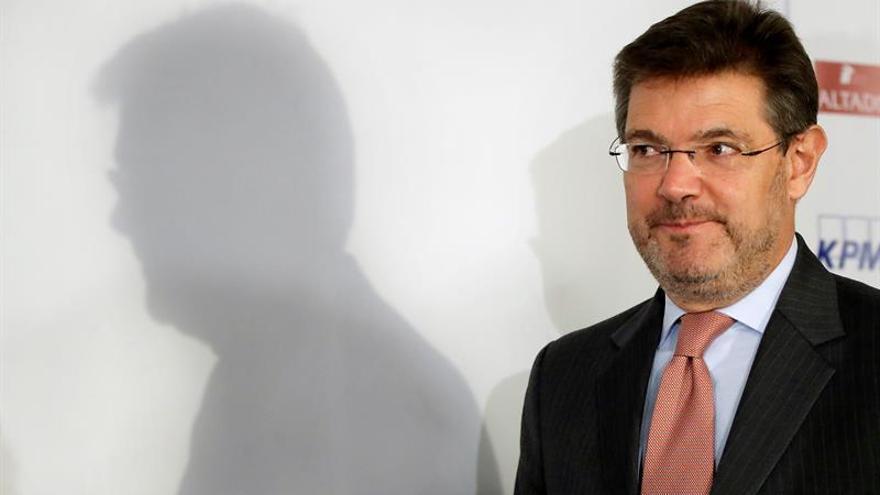 """Catalá: """"La Fiscalía no hace lo que le dice el Gobierno"""""""