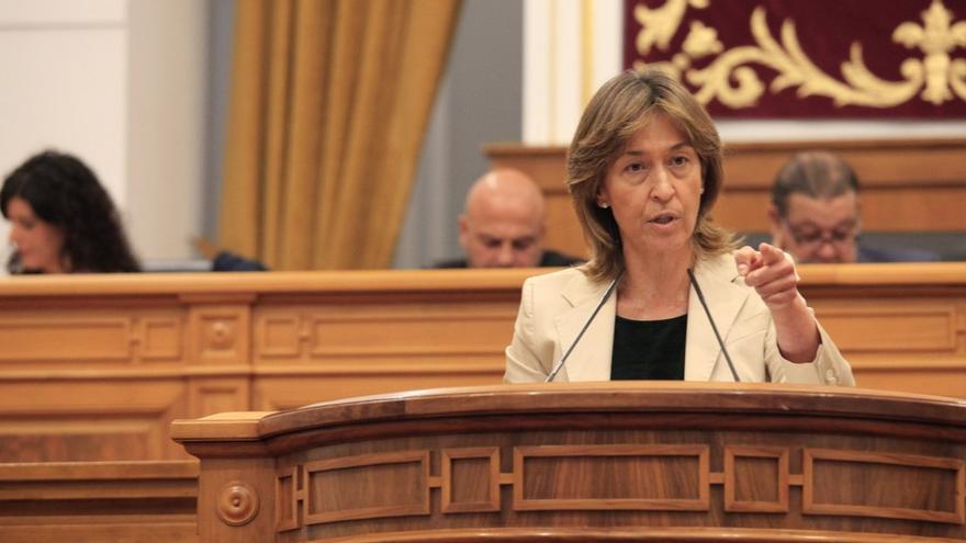 Ana Guarinos, en las Cortes CLM
