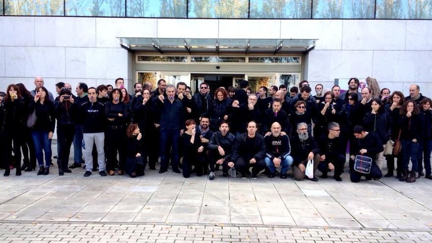Viernes Negro, Castilla-La Mancha TV, 5/12/14 / Foto: trabajadorescmt.com
