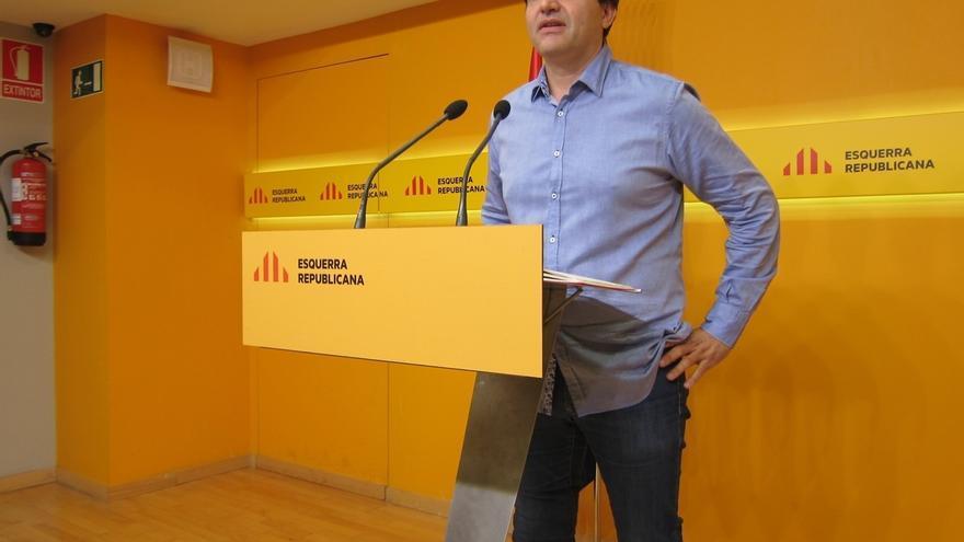 """ERC pide a Puigdemont certezas sobre el proceso y vería """"muy interesante"""" un RUI"""