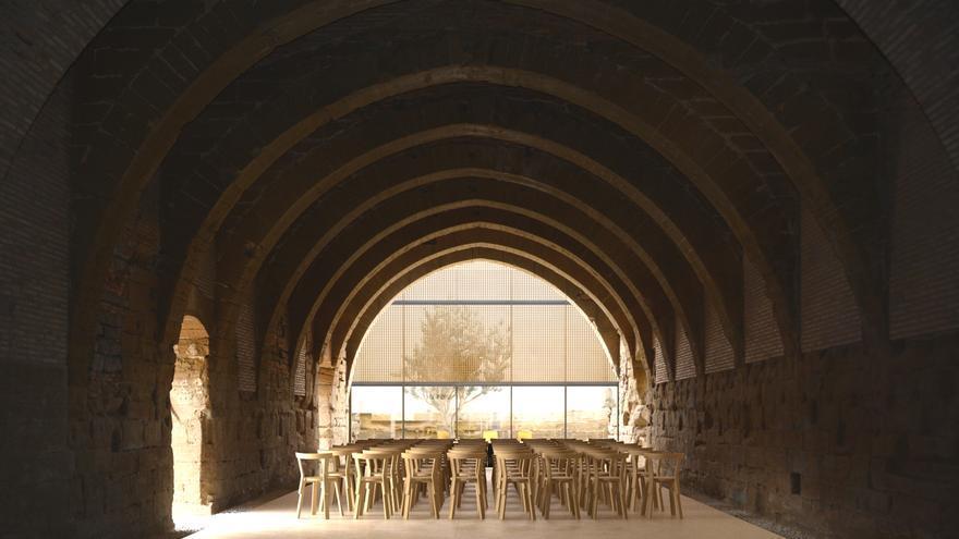 Salas anexas del Monasterio de Sijena