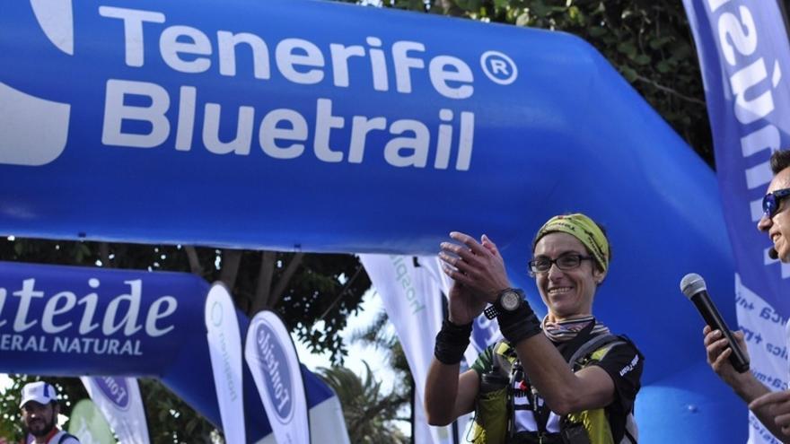 Raquel Rivero se impuso en la Ultra de la Tenerife Bluetrail / Foto del Cabildo de Tenerife
