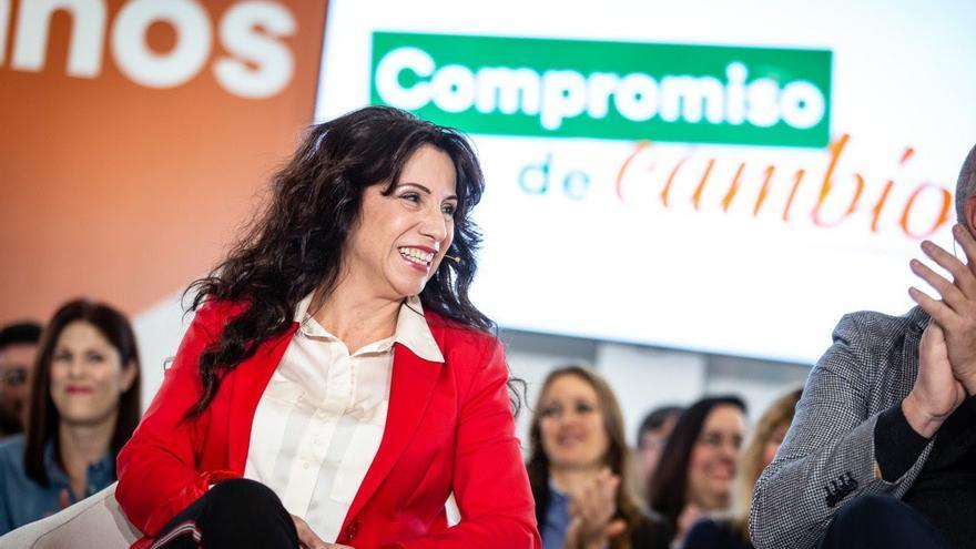 """Archivo - Rocío Ruiz destaca el """"compromiso"""" de Cs con """"los más vulnerables, mayores y dependientes"""" en Andalucía"""