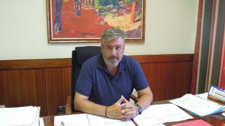 Jorge González es consejero de Infraestructura y Nuevas Tecnologías del Cabildo.